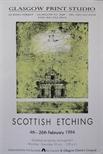 Exhibition Poster - Scottish Etching