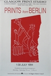 Exhibition Poster - Prints from Berlin