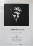Exhibition Poster - Andrew Sneddon - Artefacts of Time