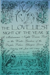 Poster - The Loveliest Night of theYear
