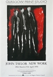 Exhibition Poster - John Taylor, New Work