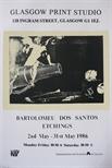 Exhibition Poster - Bartolomeu Dos Santos, Etchings