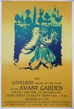Poster - The Loveliest Night of The Year is an Avant Garden