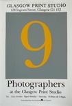 Exhibition Poster - 9 Photographers at the Glasgow Print Studio