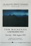 Exhibition Poster -Tom Mackenzie, A Retrospective