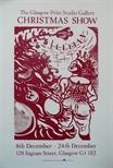 Exhibition Poster - The Glasgow Print Studio Gallery Christmas Show