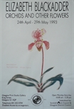 Exhibition Poster - Elizabeth Blackadder, Orchids and Other Flowers