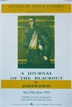 Exhibition Poster - 'A Journal of the Blackout by Joseph Davie'