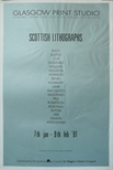 Exhibition Poster - Scottish Lithographs