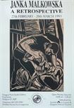 Exhibition Poster - Janka Malkowska, A Retrospective