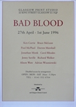 Exhibition Poster - Bad Blood