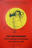 Exhibition Poster - Ray Richardson, Prints, Paintings and Drawings
