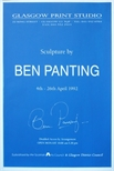 Exhibition Poster - Sculpture by Ben Panting