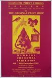 Exhibition Poster - The Original Print Shop, Members Christmas Exhibition