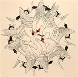 Untitled (swans)