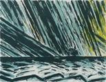 Bass Rock, Evening Storm