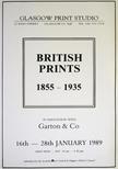 Exhibition Poster - British Prints 1855-1935