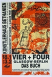 Exhibition Poster - Vier + Four, Glasgow-Berlin, The Book
