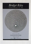 Exhibition Poster - Bridget Riley Paintings and Prints 1964 - 1995