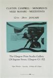 Exhibition Poster - Clayton Campbell Monoprints & Nicki McHarg Mezzotints