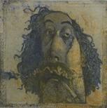 Self Portrait Smoking (Smoky Joe)