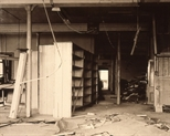 Slide: Interior of Glasgow Print Studio premises, Ingram Street