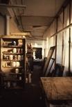 Slide: Interior of Glasgow Print Studio workshop, Ingram Street
