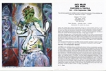 Invite Card: Jack Miller, New Work Painting and Pastels (1986)