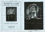 Invite Card: Elspeth Lamb, Crossing The Water (1986)