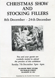 Invite Card: Christmas Show and Stocking Fillers (1986)