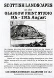 Invite Card: Scottish Landscapes (1987)