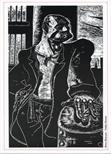 Invite Card: Fourth Scottish Print Open (1987)