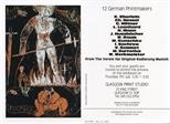 Invite Card: 12 German Printmakers  (1988)