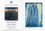 Invite Card: John Taylor, New Work (1991)