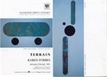Invite Card: Karen Forbes, Terrain (1991)