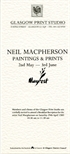 Invite Card: Neil Macpherson, Paintings and Prints (1989)