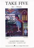 Invite Card: Joe Davie, Victoria Cassidy, David Watt, Eveleen Wright and Iona Montgomery, Take Five (1989)