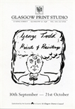 Invite Card: George Todd, Prints and Paintings (1989)