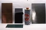 Slide: Materials for producing an etching