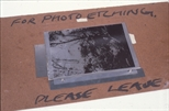 Slide: Photo etching plate ready to be exposed