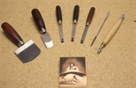Slide: Mezzotint tools