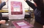 Slide: Printed monoprint