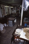 Slide: Lithography press at Glasgow Print Studio, Ingram Street
