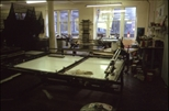 Slide: Screenprint area at Glasgow Print Studio, King Street