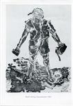 Invite Card: Georg Baselitz, Printed Works 1965-1992 (1996)