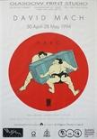 Exhibition poster - David Mach