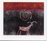 Invite Card: Barbara Rae, Recent Graphics (2000)
