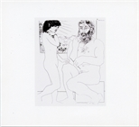 Invite Card: Matisse & Picasso (2002)
