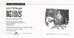 Invite Card: John McNaught, Not Donald Mac Donald(1997)