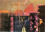Invite Card: Barbara Rae, Monotypes (1986)